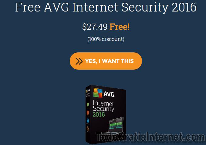 AVG Internet Security 2016 gratis | Todas las cosas Gratis de Internet
