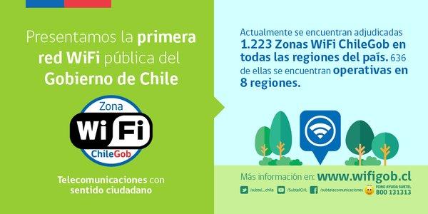 Wifi Gratis En Chile Creado Por El Gobierno Wifi Chilegob