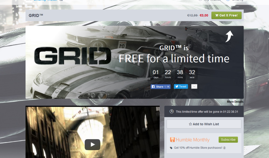 Juego Grid Gratis Para Steam Todogratisinternet