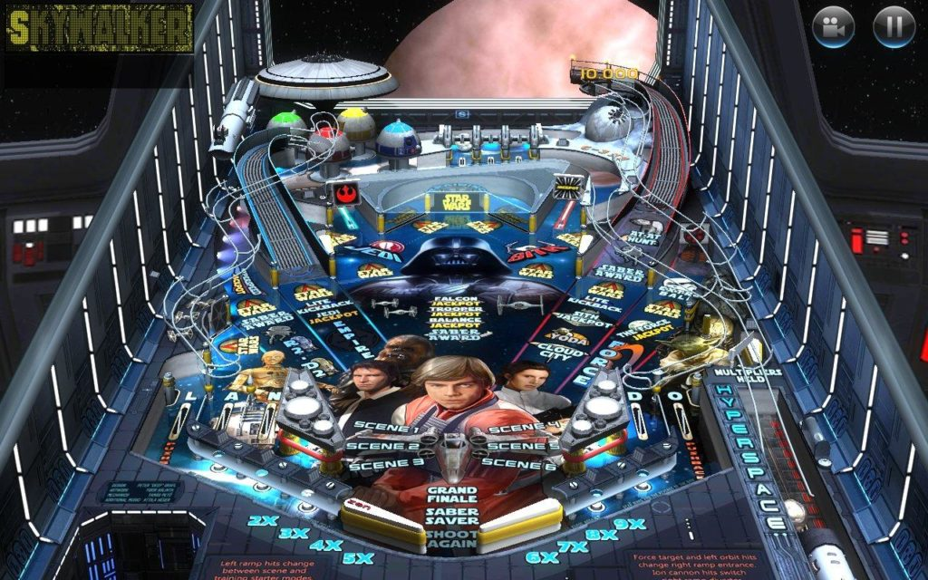 Star Wars Pinball Machine For Sale Game Play - YouTube