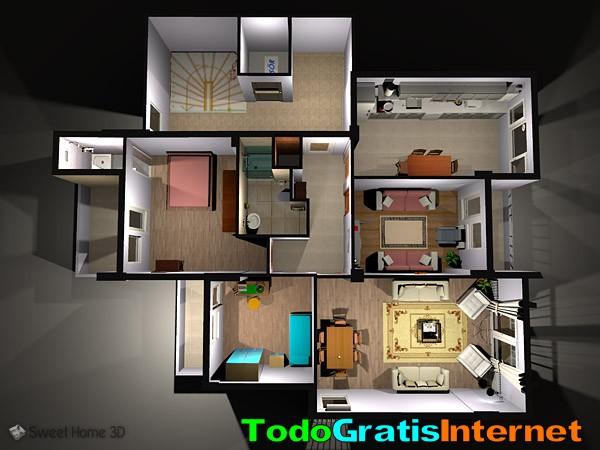 Programa para dise o de interiores gratis for Software diseno de interiores gratis