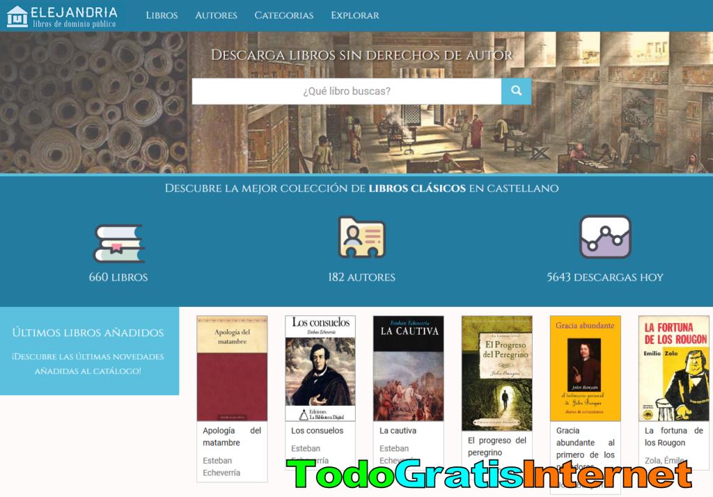 Descarga Libros Gratis Sin Derechos De Autor